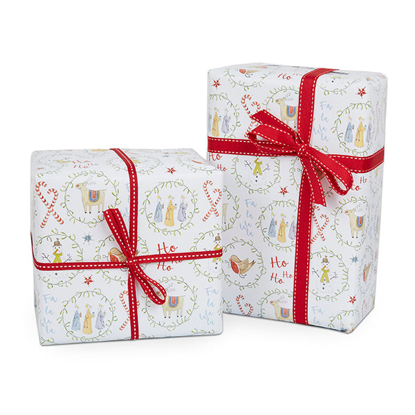 Mistletoe Christmas Wrapping Paper