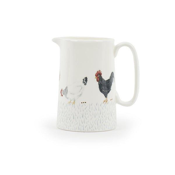 Country Chickens Medium Jug (Holds 1/2 a Pint)