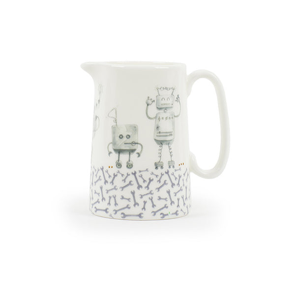 Rioting Robots Medium Jug (Holds 1/2 A Pint)