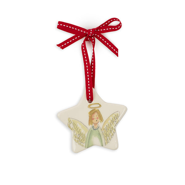 Large Star Angel Decoration