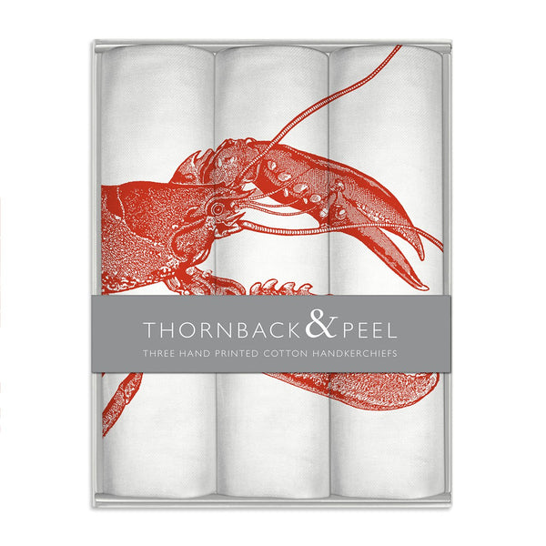 Red Lobster Hanky Gift Box