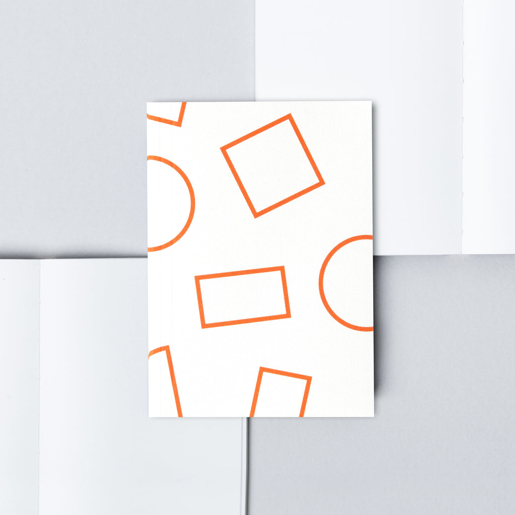 Shapes A6 Notebook by Ola Studio