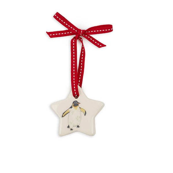 Small Star Penguin Decoration