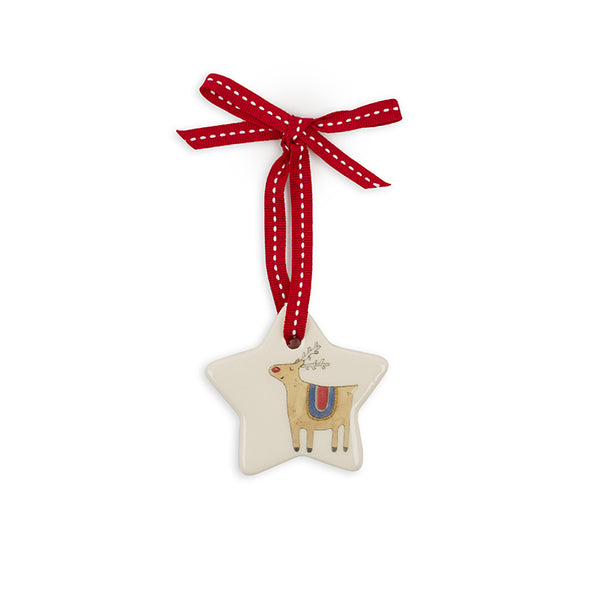 Small Star Rudolph Decoration