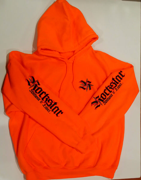 Hoodie Safety Orange