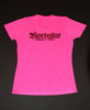 Fitness/Sport Tek Womens Hot Pink Shirts