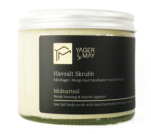 Midnattsol - Honey & Spiced Orange Sea Salt Scrub