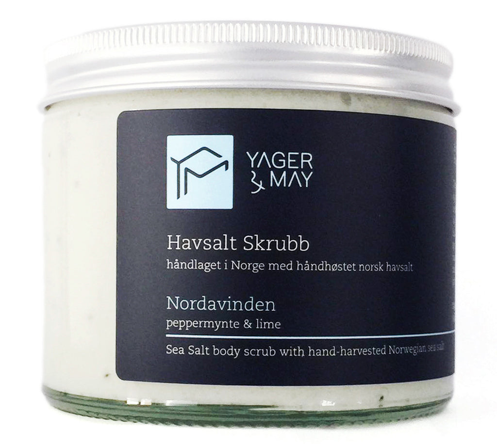 Nordavinden - Peppermint & Poppyseed Sea Salt Scrub