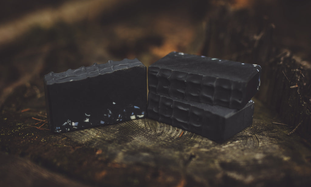 Askeladden - Charcoal and cedarwood natural soap