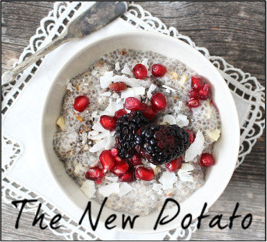 What's for breakfast? The Get Off Your Acid Chia Seed Warrior Bowl