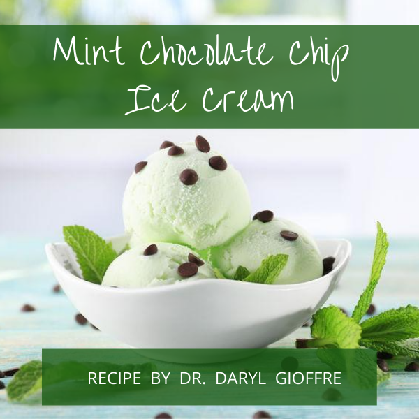 Mint Chocolate Chip Ice Cream Recipe