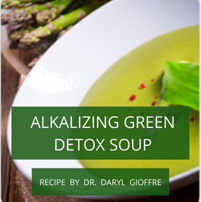 Alkalizing Green Detox Soup Recipe by Dr. Daryl