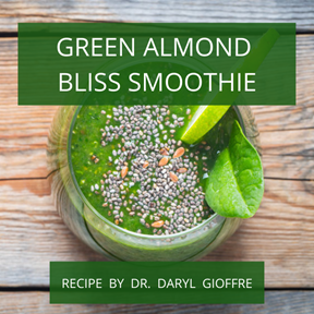 Green Almond Bliss Smoothie Recipe by Dr. Daryl