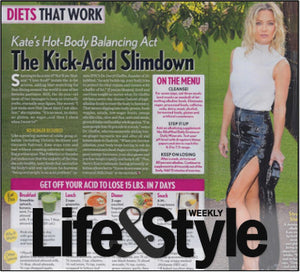Life & Style – Diets That Work – The Kick-Acid Slimdown