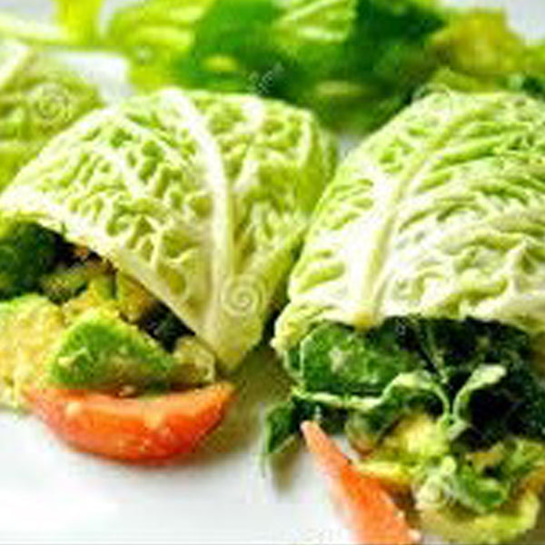 Alkaline Diet Recipe: Savory Avocado Wraps