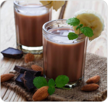 Alkaline Diet Recipe - Cacao Protein Smoothie