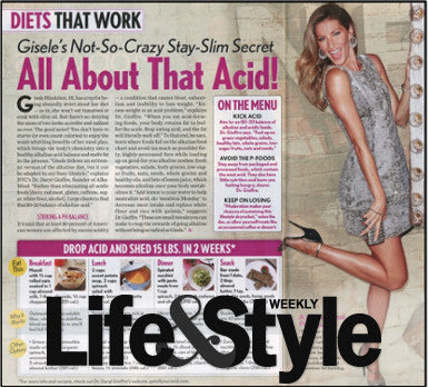 Gisele's Not-So-Crazy Stay-Slim Secret All About That Acid!