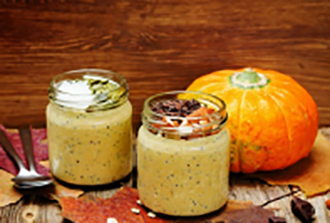 Alkaline Diet Recipe: Pumpkin Chia Pudding