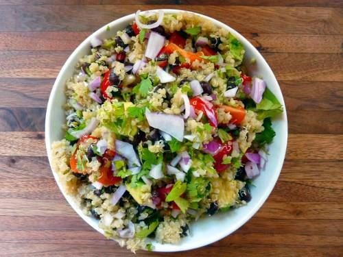 Alkaline Diet Recipe: South of the Border Quinoa Salad