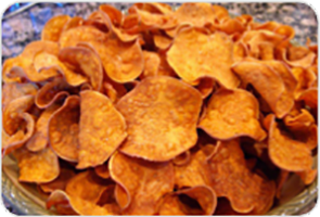 Alkaline Diet Recipe: Sweet Potato Chips