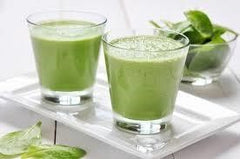 Green and Glowing Breakfast Smoothie