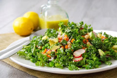 Summer Salad with Citrus Dressing