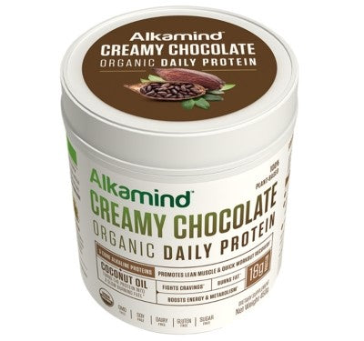 Most protein powders use acidic ingredients like whey, sugar, artificial sweeteners, and fillers which are BAD! Alkamind Daily Protein is doctor-formulated and uses nothing but the best plant-based organic alkaline ingredients to help you…GET OFF YOUR ACID! Use as a total meal replacement, a healthy snack, or after your workout to build lean muscle mass and recover quicker Burns Fat, Builds Lean Muscle! Boosts Energy & Metabolism Fights Cravings Quick Workout Recovery 100% Plant-Based & USDA Certified Organic Dairy Free, Soy Free, GMO Free, Gluten Free, Sugar Free #Alkamind #GetOffYourAcid Dr. Daryl Gioffre
