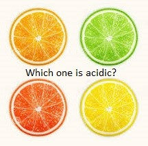 Which citrus is acidic