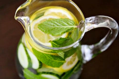 Lemon Cucument Mint Water