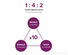 Power Breath Ratio - Tony Robbins