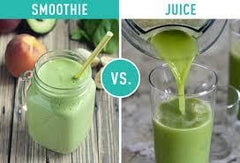 Smoothie vs Juice