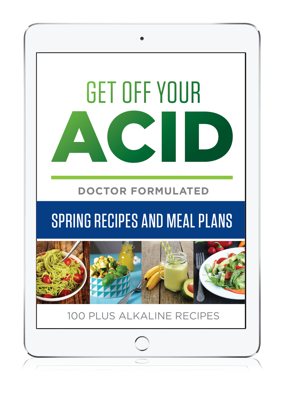 Alkaline Recipe eBook Spring