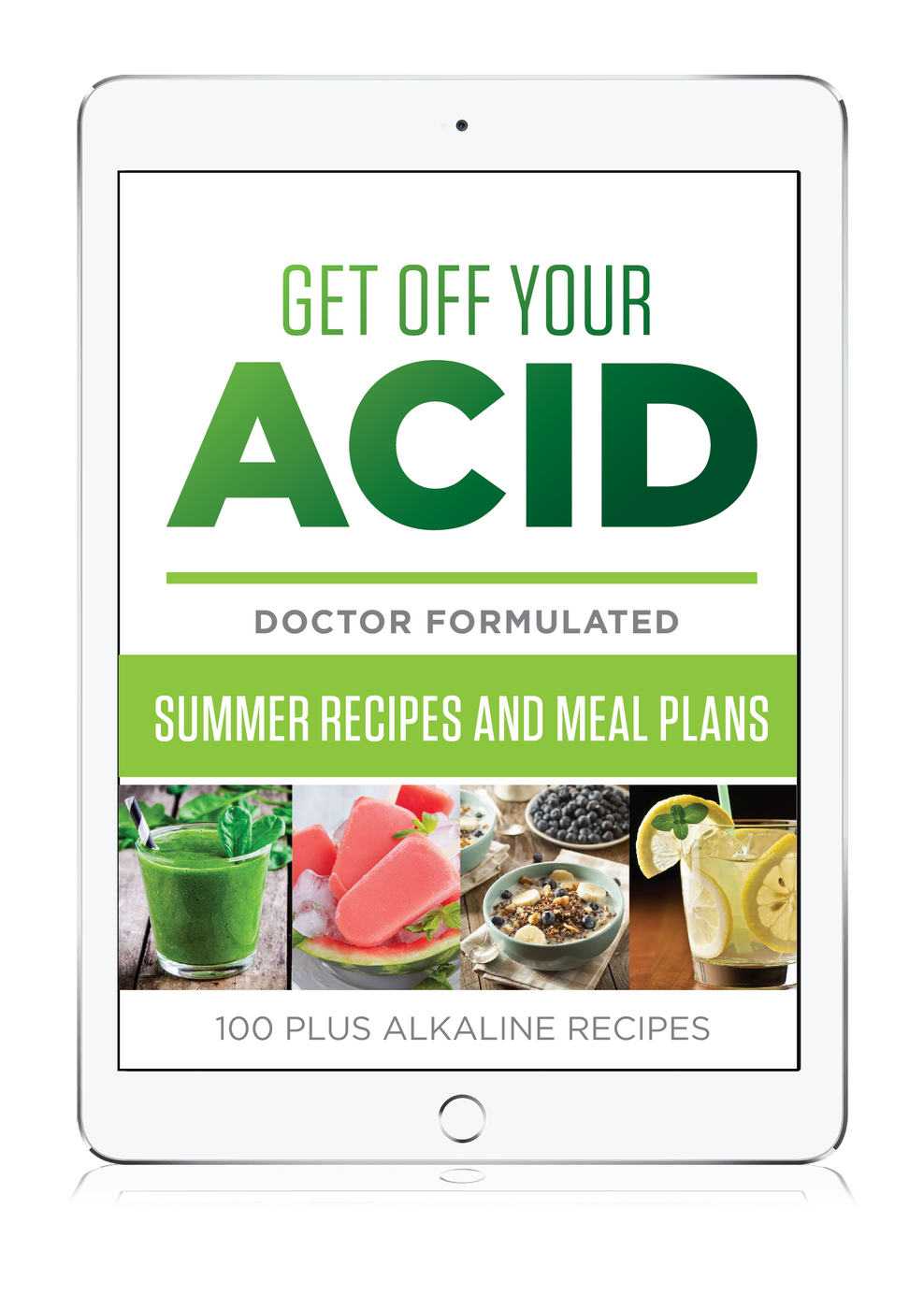 Alkaline Recipe eBook Summer