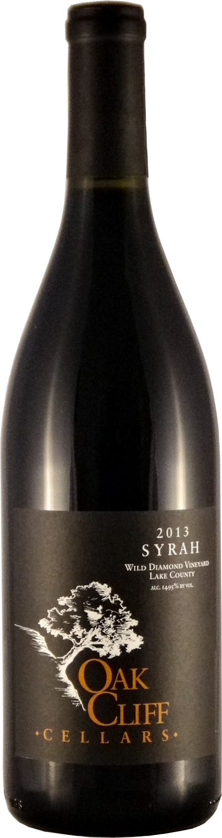 2013 Oak Cliff Cellars Wild Diamond Syrah - Qorkz