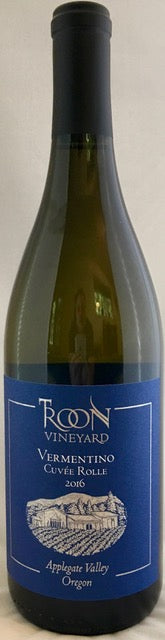 2016 Troon Blue Label Vermentino Cuvée Rolle, Applegate Valley - Qorkz