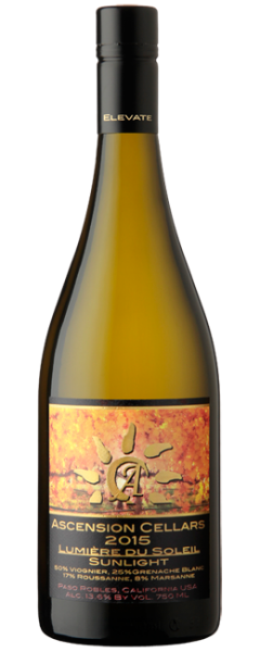 "2015 Ascension Cellars ""Lumière Du Soleil"" Sparkling - Qorkz"