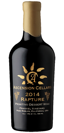 2014 Ascension Cellars Rapture Red Port-Style Dessert Wine - Qorkz