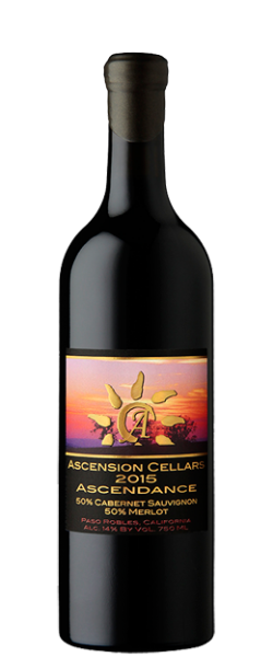 2015 Ascension Cellars Ascendance Cab/Merlot - Qorkz