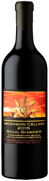 2015 Ascension Cellars Soul Shaker Bordeaux Blend