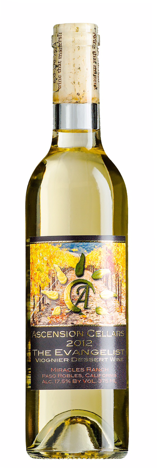 2012 Ascension Cellars Evangelist Late Harvest Viognier - Qorkz