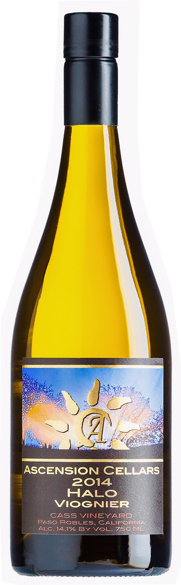 2014 Ascension Cellars Halo Viognier - Qorkz