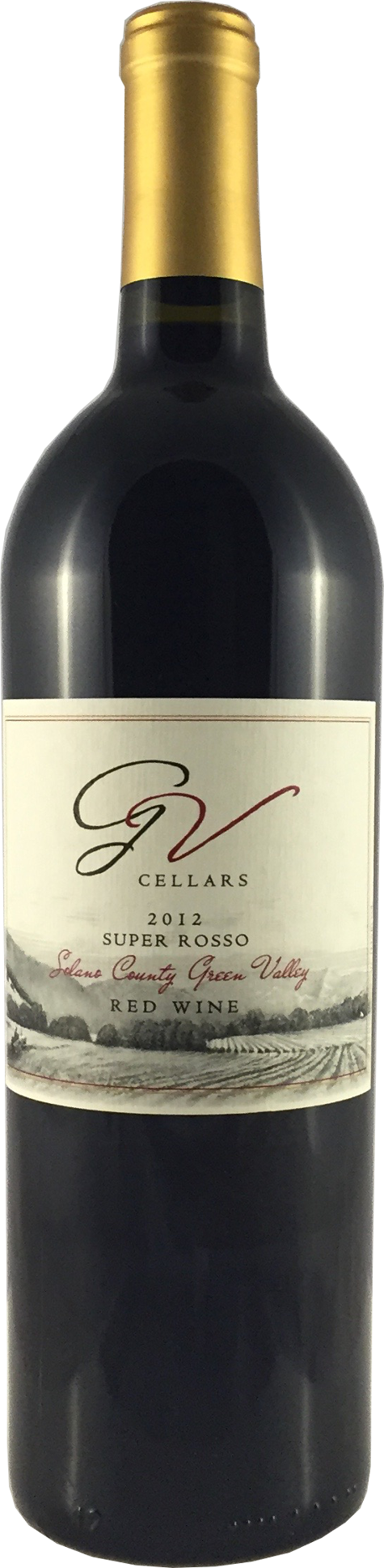 GV Cellars 2012 Super Rosso Red Blend Solano County Green Valley - Qorkz