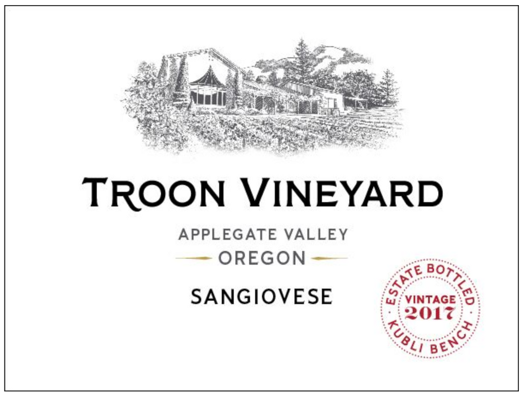 2017 Troon Vineyard Estate Sangiovese - Qorkz