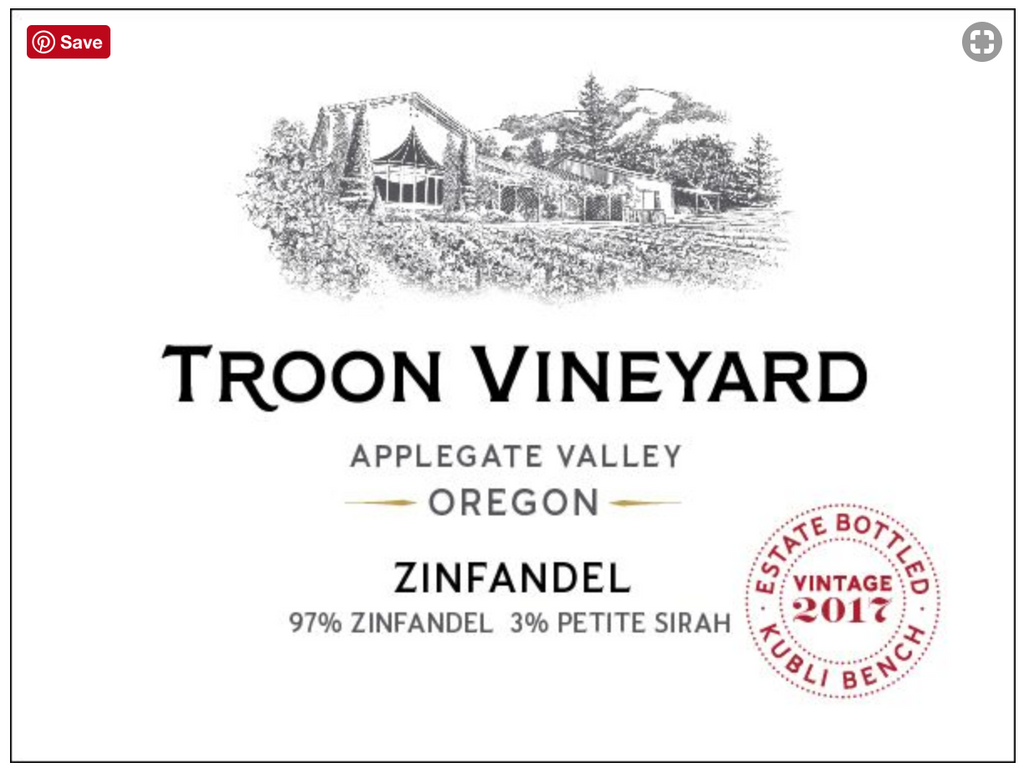 2017 Troon Vineyard Estate Zinfandel - Qorkz