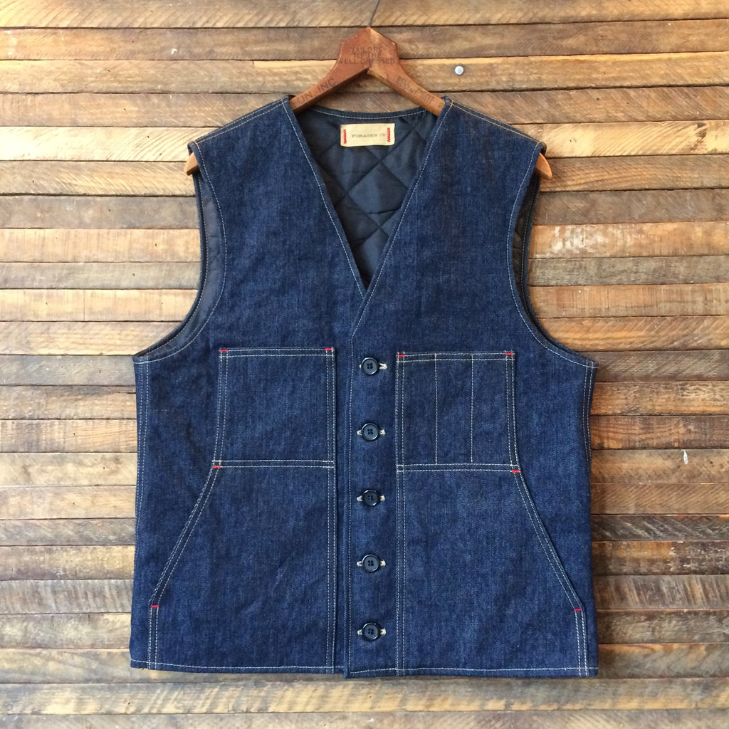 Thinsulate Lined Field Pocket Denim Vest