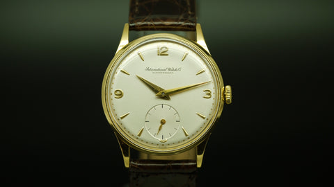 International Watch Company 18ct Gold. Circa 1956.