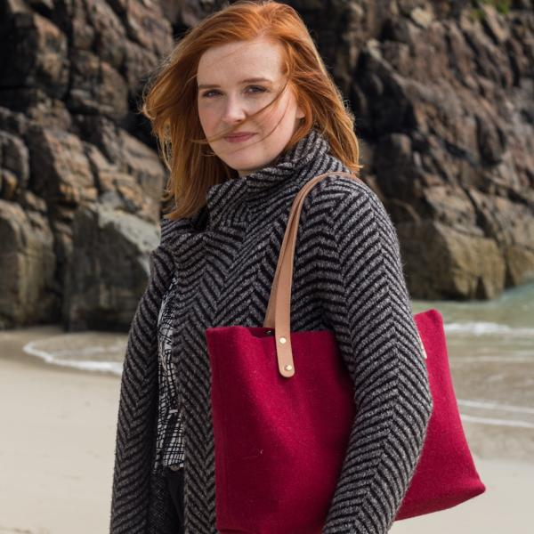 BÙTH: HARRIS TWEED SHOPPER - modren