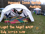 AOP Dome Rental - Light the Night - South Pittsburg, TN July 21-23 2018