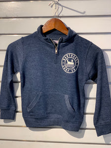Kids 1/4 Zip Kids Navy Sweatshirt