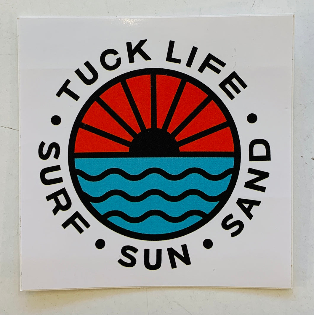 Tuck Life Sticker